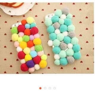 尋 此款手機殼 絨毛羊毛球球 要iPhone6s Plus