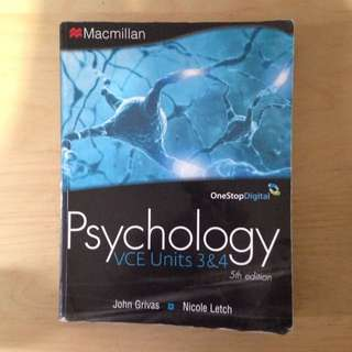 Macmillan Psychology VCE units 3&4