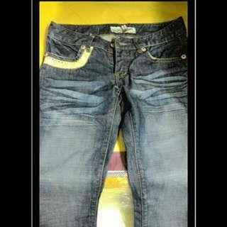 日系牛仔褲(尺碼:27)