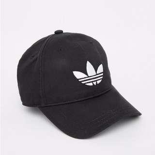 《英國代購》Adidas 三葉草黑色老帽