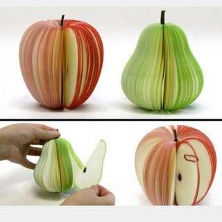 贈🎉水果造型便條紙