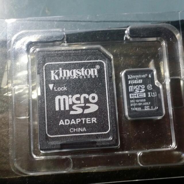 金士頓16G記憶卡