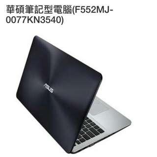華碩筆電 Asus F55MJ-0077KN3540