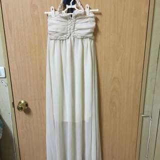 仙女雪紡長裙