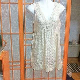 001 手工編織罩衫