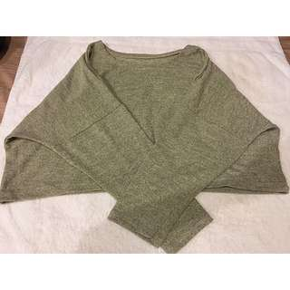 Loose Crop Sweater