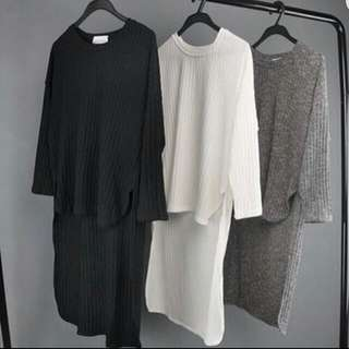 Hi-Lo Cape Knitted Top
