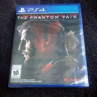 PS4 MGS5 Metal Gear Solid 5 New