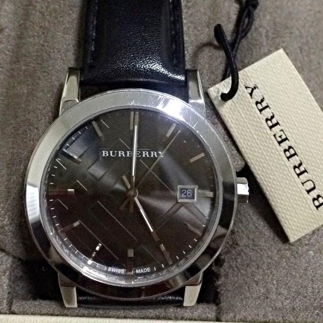 正品。9成新Burberry男錶。超質感 需用錢,開價能接受即賣