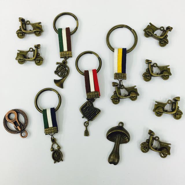古銅鑰匙圈