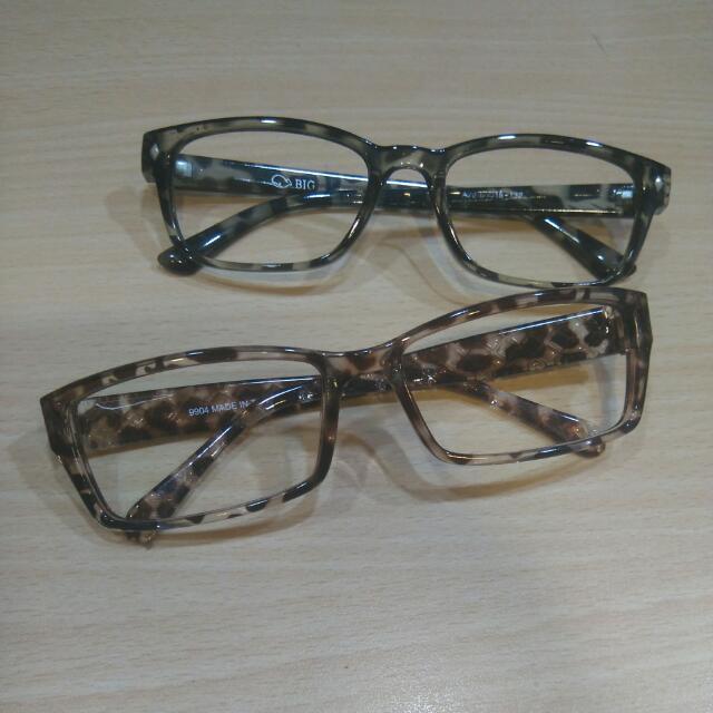 (無鏡片)塑膠框眼鏡