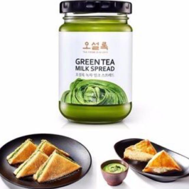 「售出」韓國 抹茶醬