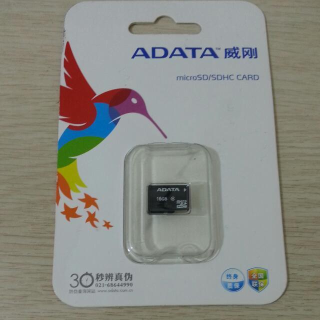 ADATA威剛 16GB記憶卡