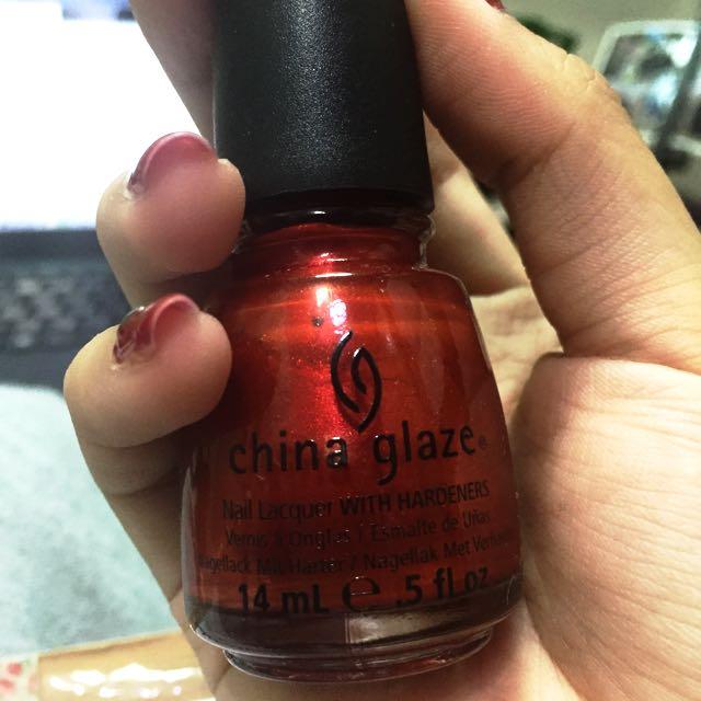 China glaze 指甲油 色號1202
