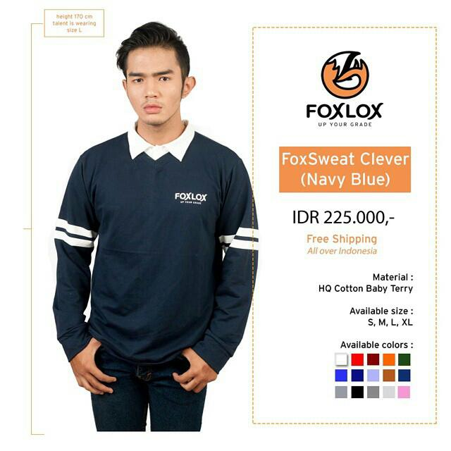 FOXSWEAT CLEVER NAVY BLUE
