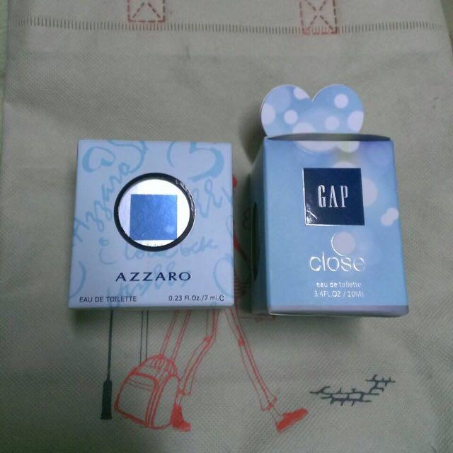 Gap。AZZARO男性淡香香水