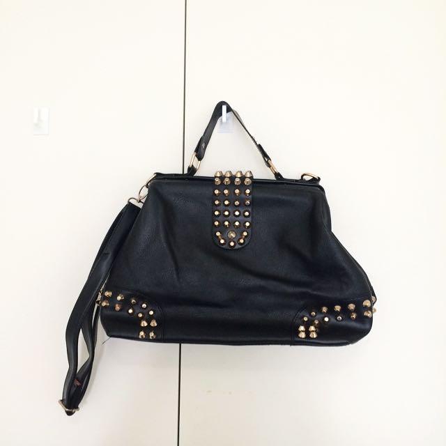 Gold Studs Bag