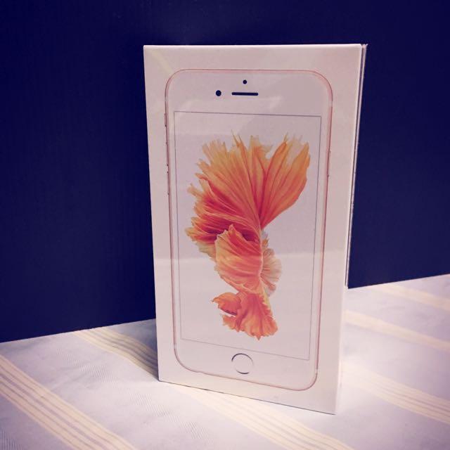 I Phone 6s 16GB 玫瑰金