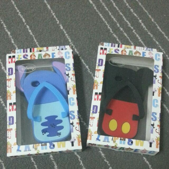 Set Of 2 Iphone 4 Disney Rubber Cover