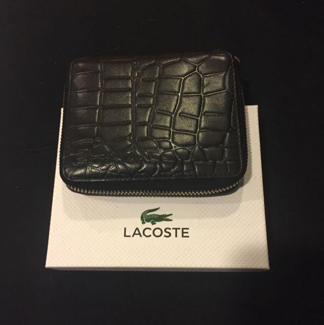 LACOSTE皮夾(二手)