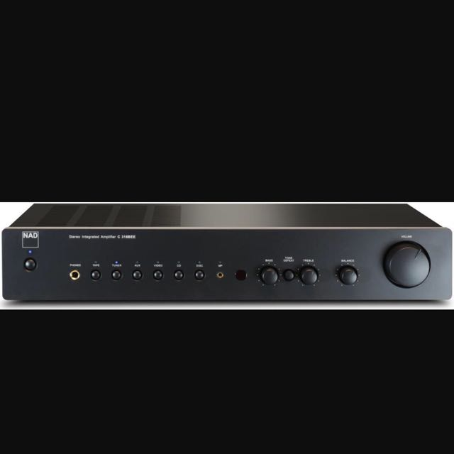 NAD C316bee Stereo Integrated Amplifier, Electronics on