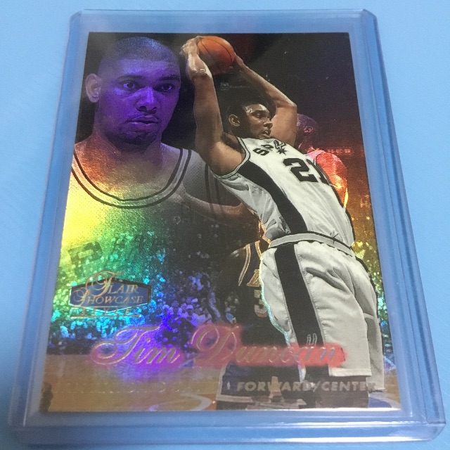 Nba Cards Tim Duncan Rookie Card