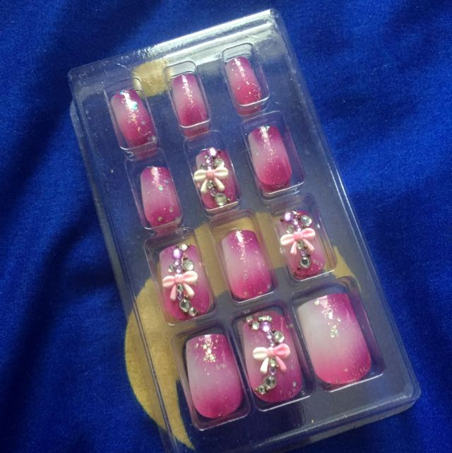 Paris Kids Japan Fake Nails, Health & Beauty on Carousell