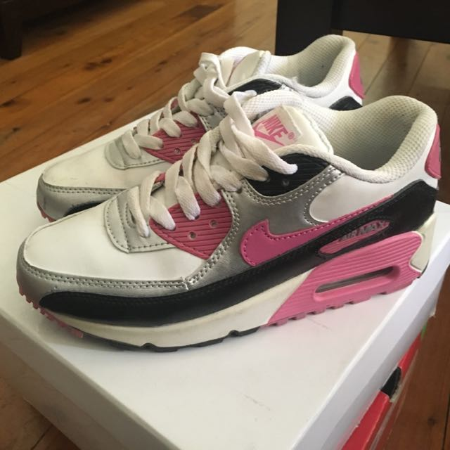 Pink Nike Air Max- Size US 7