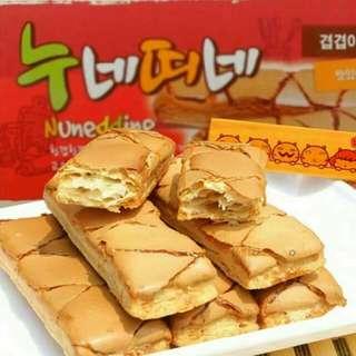 超火紅的 #韓國  😋Nuneddine奶油千層酥😋