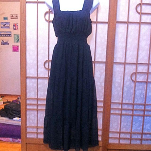 004  雪紡紗洋裝