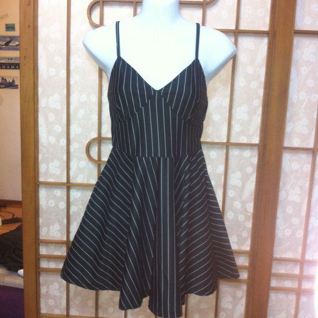 005  條紋短洋裝