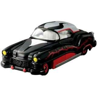 日本TOMICA多美合金迪士尼黑魔女小汽車,全新未拆。
