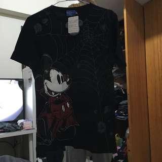 東京迪士尼 吸血鬼米奇 萬聖節限定T