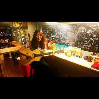 台灣Ligar單板旅行吉他