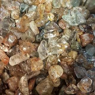 Mixed Phantom Spirit Quartz Crystal Chips Stones