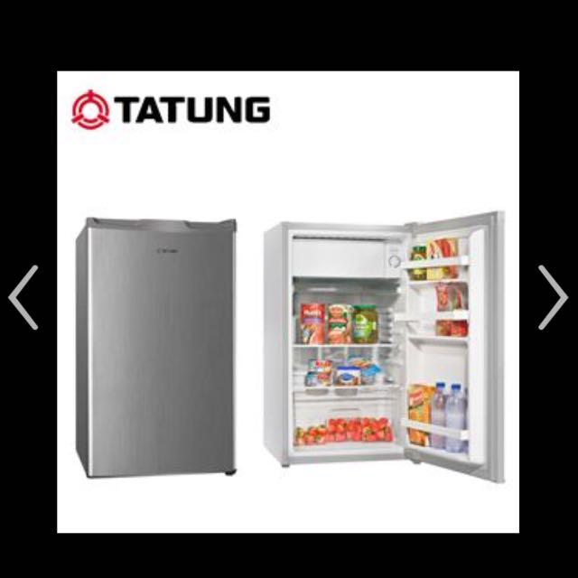 大同節能省電單門冰箱100公升