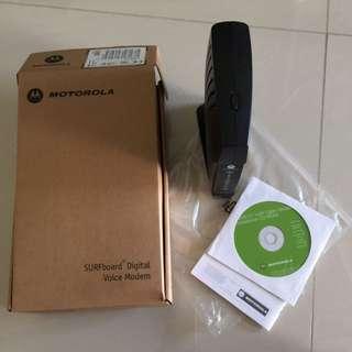 Motorola Surfboard Digital Voice Modem SBV5121