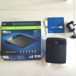 Linksys E1500 Wireless N Router