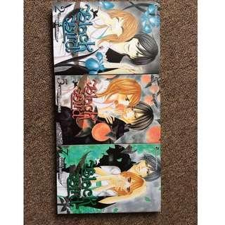Black Bird Manga 2, 5 and 7