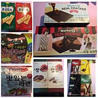 (韓食代購)韓國高人氣療癒零食