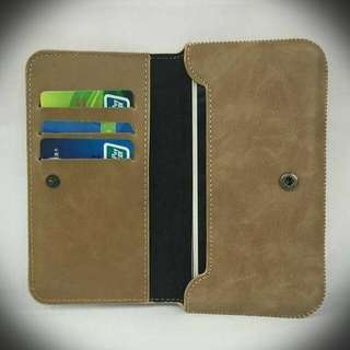 2in1 Minimalist Leather Wallet Case for Smarphone