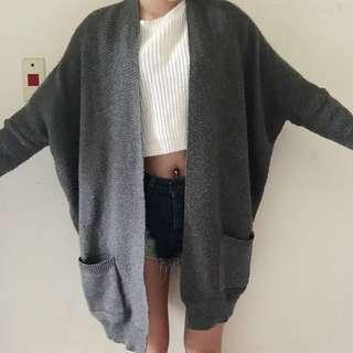 慵懶針織外套