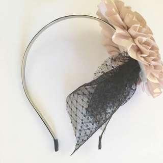 Pink Fascinator Headband