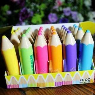蠟筆造型潤唇膏