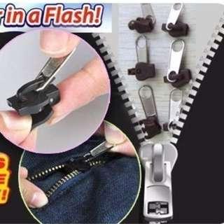 Fix A Zipper 神奇拉鍊頭 神奇萬用拉鍊頭 (6入~大*2 中*2 小*2) 萬能拉鏈頭 立即拉鍊頭