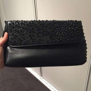 Zara Studded Chain Bag