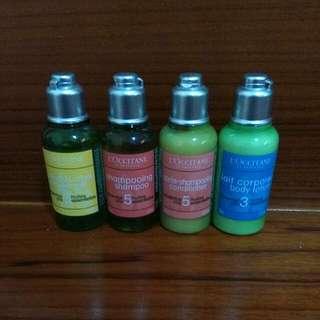 l'occitane  歐舒丹 沐浴,洗髮,潤髮,身體乳
