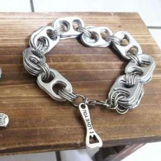 脾酒罐拉環(手環)