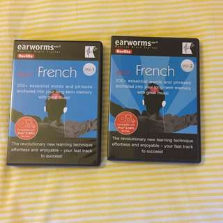 Berlitz Earworms Rapid French Volumes 1 And 2