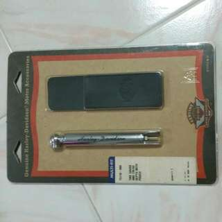 Tire Gauge And Tread Depth With Pouch